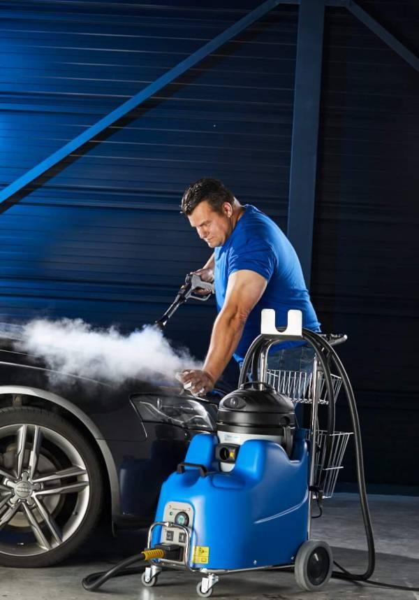 Stoomreiniger Junior Star Max auto exterieur reinigen