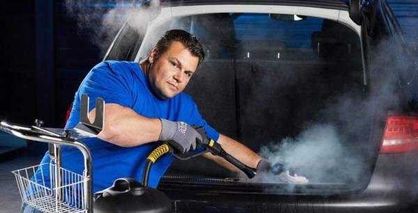 Stoomreiniger Junior Star Max auto interieur reinigen