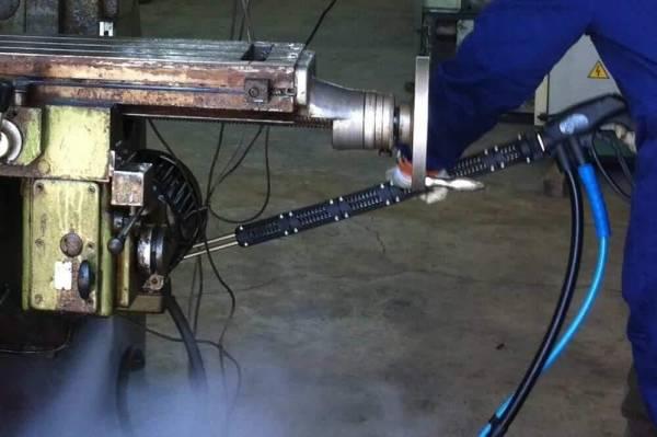 Stoomreiniger met hogedruk Steam Power mechanische industrie