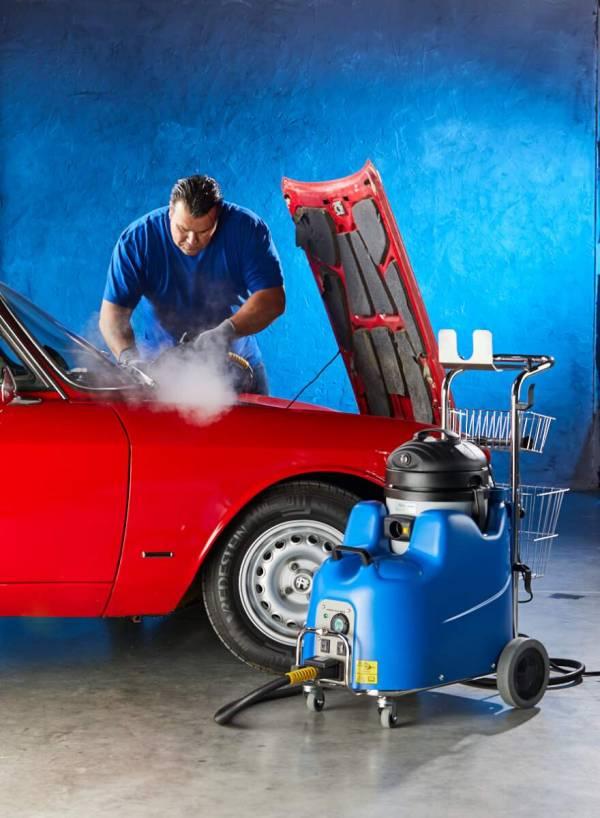 Stoomreiniger Junior Star Max auto reinigen