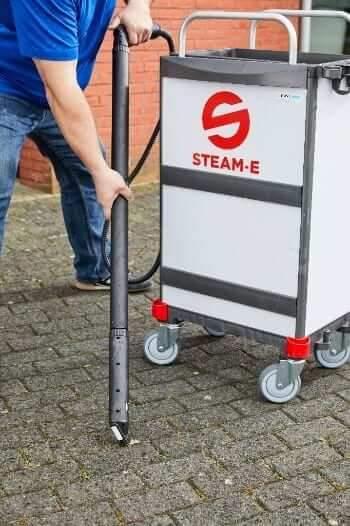 Kauwgom verwijderen met Steam E