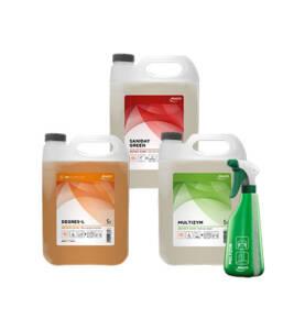 Duurzame reinigingsmiddelen